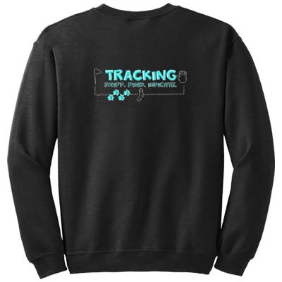 Embroidered Tracking Sweatshirt