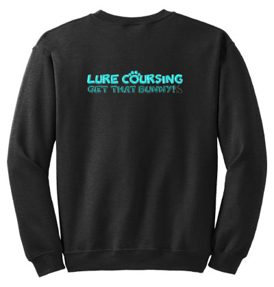 Embroidered Lure Coursing Sweatshirt