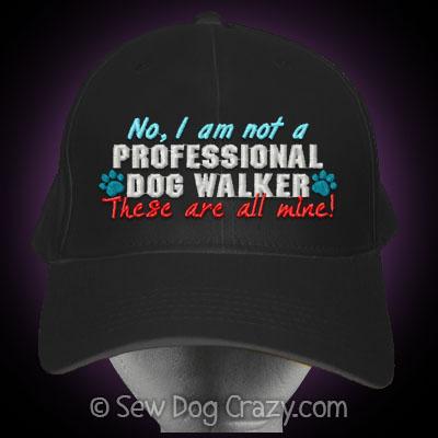 Funny Dog Walker Hat