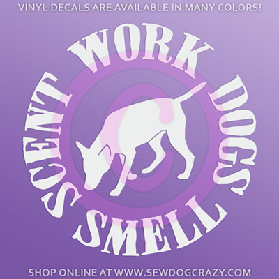 Nose Work Stickers