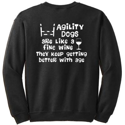 Agility Wine Sweatshirt