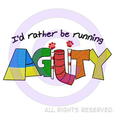 Fun dog agility shirts