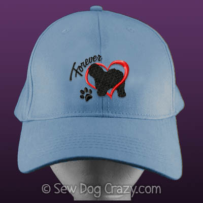 Old English Sheepdog Embroidered Hat