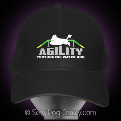 Portuguese Water Dog Agility Hat
