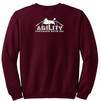 Portuguese Water Dog Agility Sweatshirt