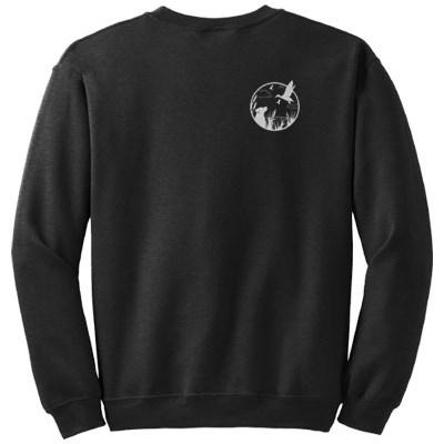 Embroidered Lab & Duck Sweatshirt