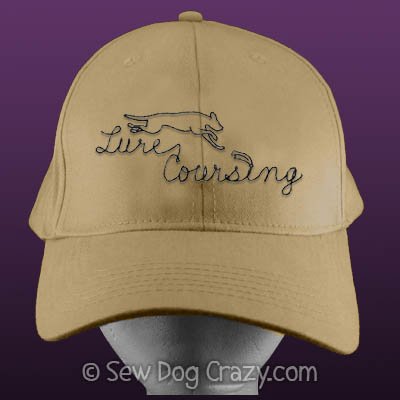 Embroidered Lure Coursing Hat