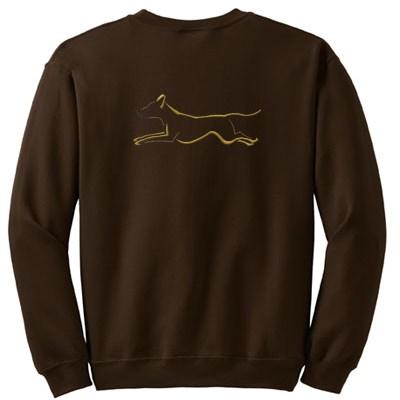 Embroidered Ridgeback Sweatshirt