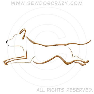 Embroidered Rhodesian Ridgeback Dog Sports Shirts