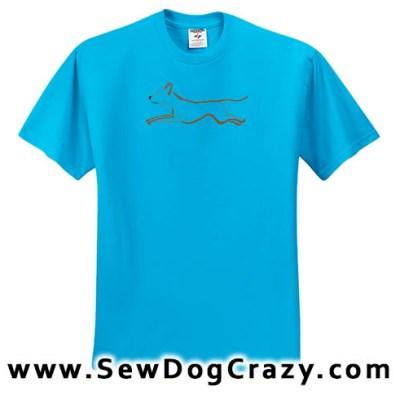 Rhodesian Ridgeback Dog Sports TShirt
