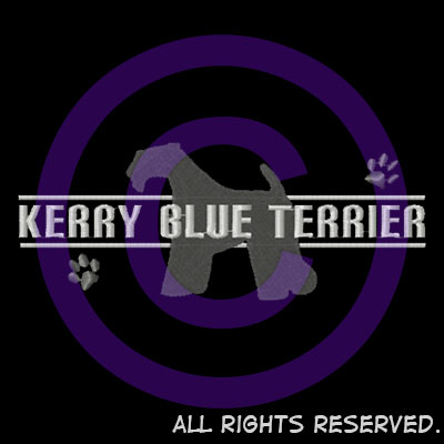 Embroidered Kerry Blue Terrier Shirts