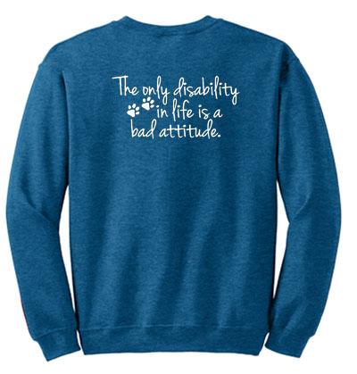 Disabled Dog Sweatshirt