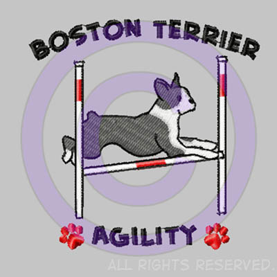 Boston Terrier Agility Shirts