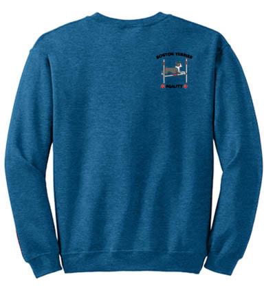 Boston Terrier Agility Sweatshirt