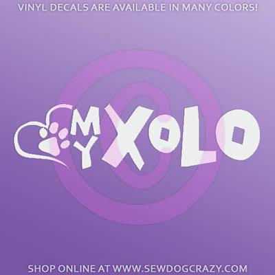 Love My Xolo Car Sticker