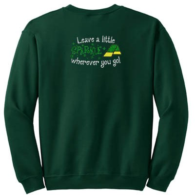 Sparkly Dog Agility Sweatshirt