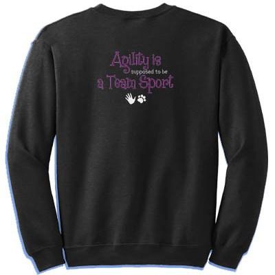 Team Sport Embroidered Sweatshirt