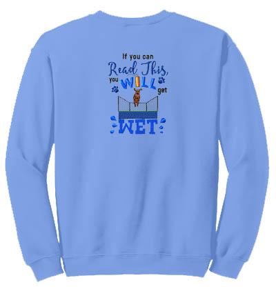 Funny Dock Jumping Sweatshirt