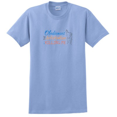 Embroidered Obedience T-Shirt