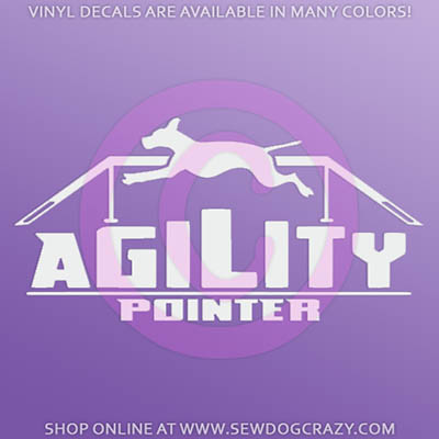 Agility Pointer Decals
