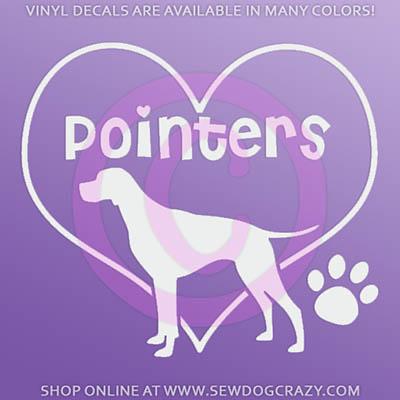 Love Pointers Decals