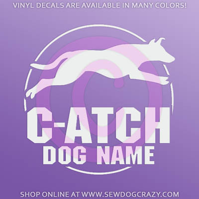 Custom Smooth Collie Agility Sticker