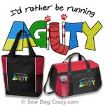 Embroidered Agility Bags