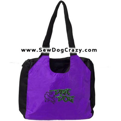 Embroidered Disc Dog Bags