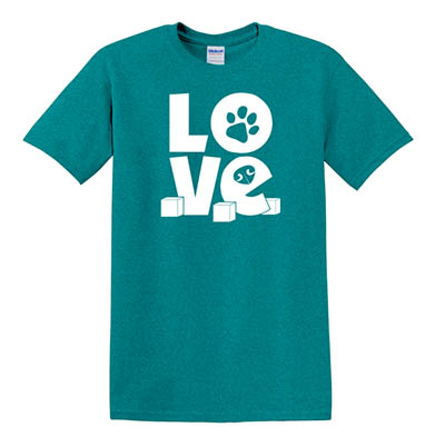 Nose Work Love T-Shirt