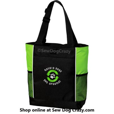 Embroidered Rally Obedience Tote Bag