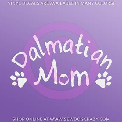 Dalmatian Mom Decals
