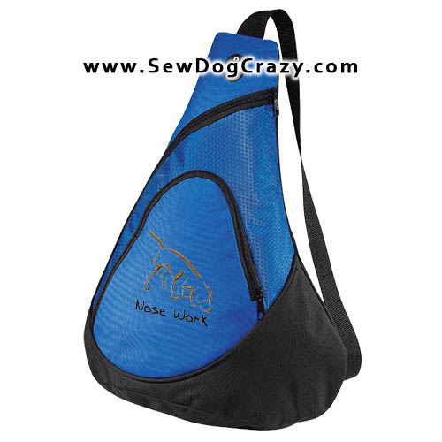Embroidered Nose Work Bags