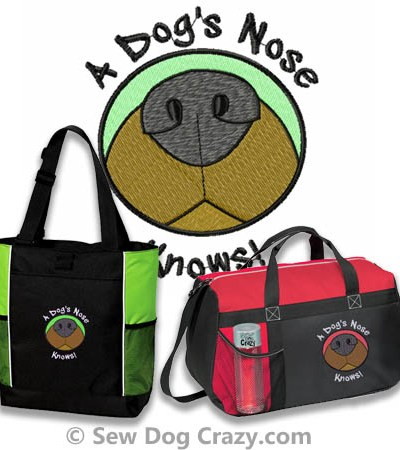 A Dog's Nose Knows Bags