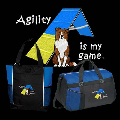 Border Collie Agility Bags