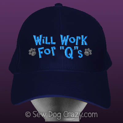 Embroidered Dog Sports Hat