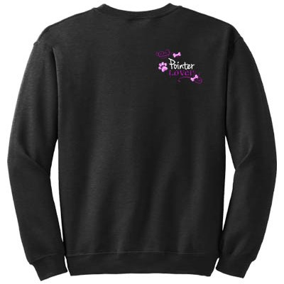 Embroidered Pointer Sweatshirt