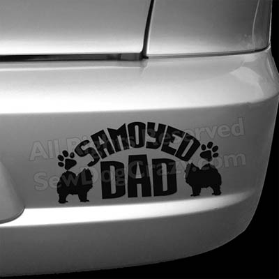 Samoyed Dad Bumper Stickers