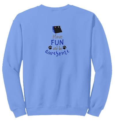 Awesome Flyball Sweatshirt
