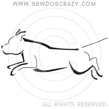 Agility Staffie Shirts