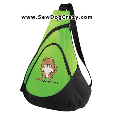 Cartoon Pomeranian Bag