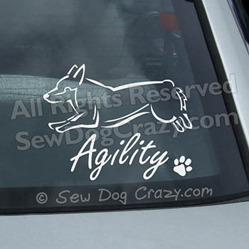 Jumping Vallhund Decals