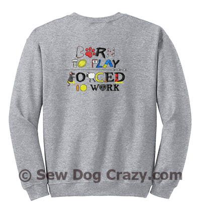 Performance Dog Sports Zip Sweatshirt
