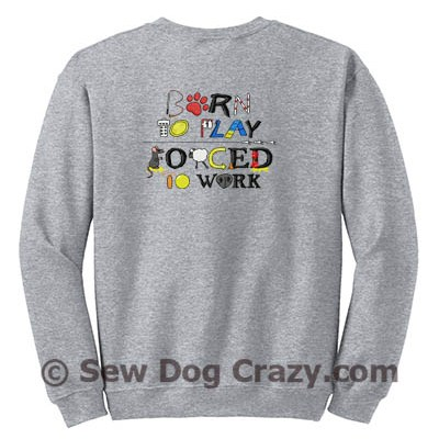 Performance Dog Sports Zip Sweatshirt