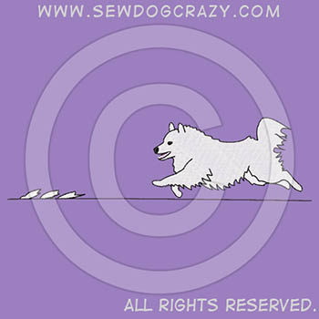 American Eskimo Dog Lure Coursing Shirts