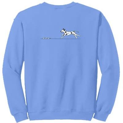 Dalmatian Lure Coursing Sweatshirt