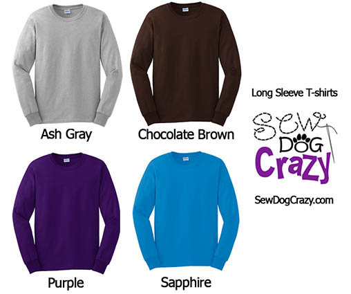 Long Sleeve T-Shirt Colors