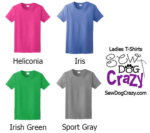 Ladies TShirt Colors