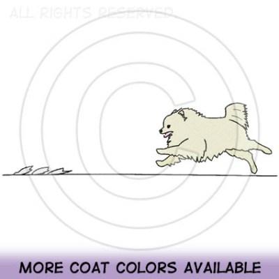 Lure Coursing Pomeranian Shirts