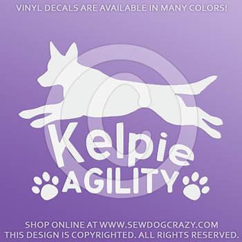 Kelpie Agility Decals