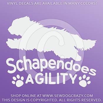 Dutch Sheepdog Agility Stickers